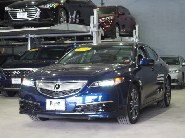 Acura Sedan 2017 >> Certified Pre Owned 2017 Acura Tlx 3 5l V6 Fwd 4d Sedan